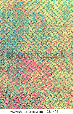 metal multy color pattern background - stock photo