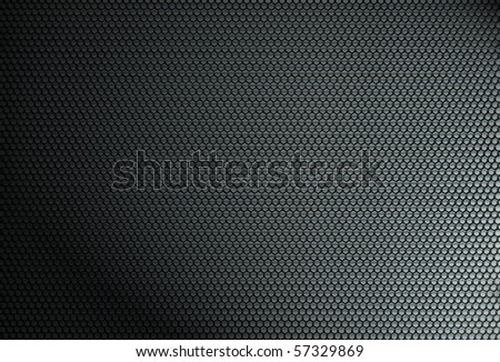 Metal net circle texture background.