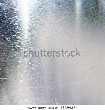 metal panel with some shades and highlights on it - stock photo