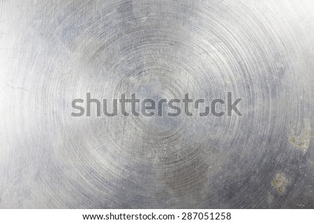 Metal plate background. - stock photo
