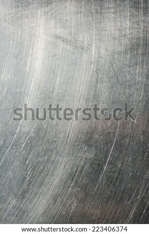 Metal plate stainless steel texture background. - stock photo