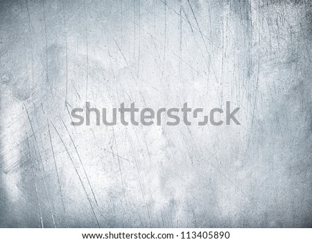 Metal plate steel background. Hi res - stock photo