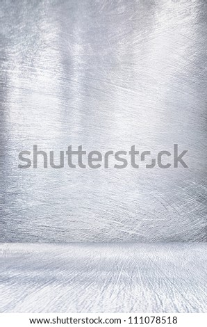 Metal plate steel background. Metal interior. - stock photo