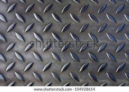 Metal plate texture - stock photo