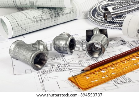 Metal plumbing fittings,project