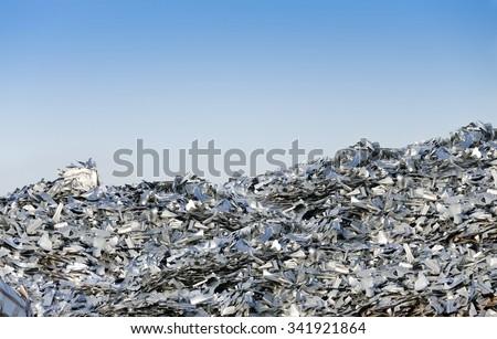 Metal Recycling Scarp - stock photo
