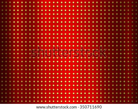 Metal red background