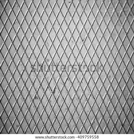 metal rivets sheet, abstract industrial background - stock photo