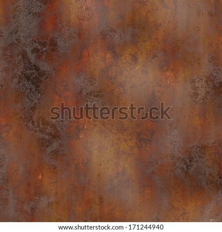 metal rust  - stock photo