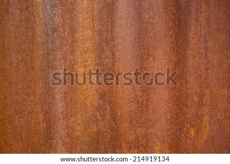 metal rusty for backgrounds - stock photo