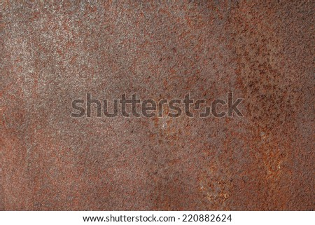 Metal rusty texture old wall  - stock photo