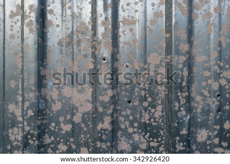 metal rusty wall background
