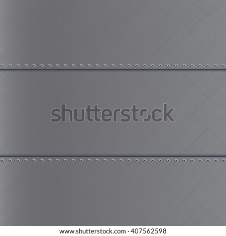 Metal scratched background. Illustration