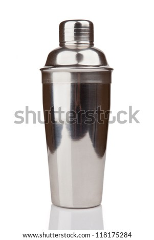 Metal Shaker - stock photo