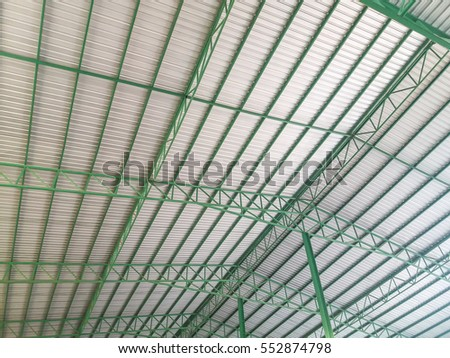 Metal sheet roof of warehouse  sc 1 st  Shutterstock : roof warehouse - memphite.com