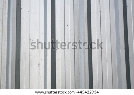 metal sheet siding wall for warehouse