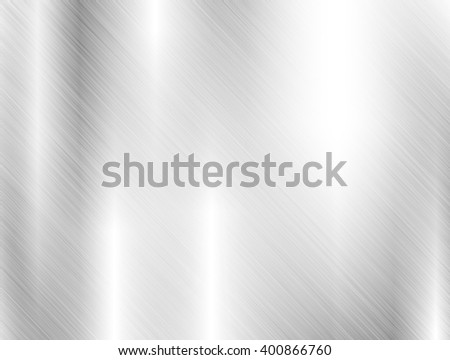 metal, stainless steel texture background - stock photo
