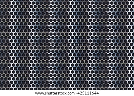 metal steel plate background - stock photo
