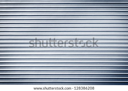 metal striped plate background texture - stock photo