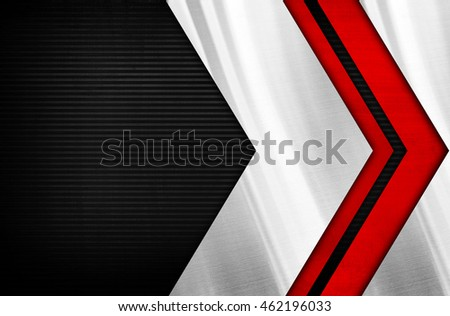 metal striped with arrow design background