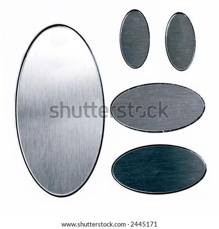 Metal Tags - stock photo