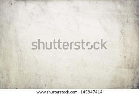 Metal texture, aged tin background - stock photo