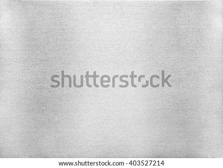 Metal texture background. Macro photo of brushed aluminium - stock photo