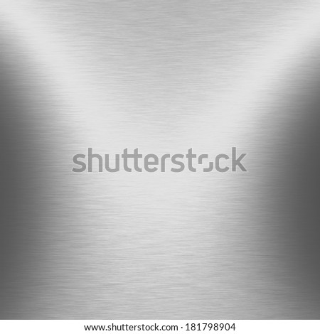 metal texture beam of spot light background - stock photo