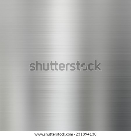 Metal texture brushed steel background - stock photo