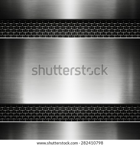 metal texture for design - stock photo