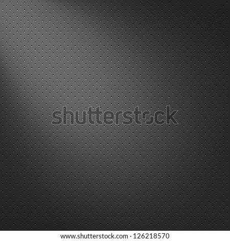 metal texture pattern, black background - stock photo