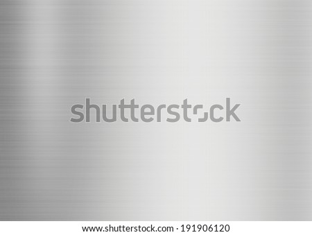 metal texture, stainless steel  - stock photo