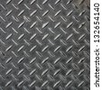 Metal textured surface for background - stock photo