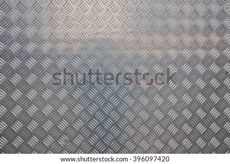 metal wall textured background with light reflection - stock photo