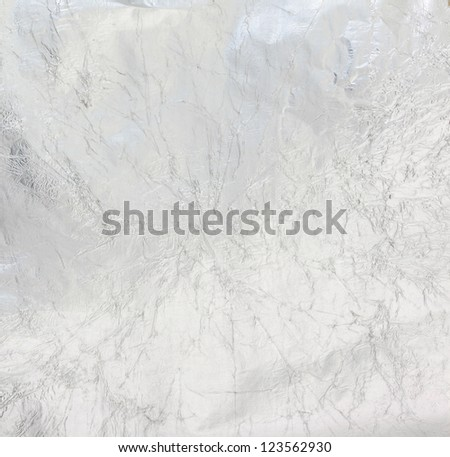 Metal wrinkled surface - stock photo
