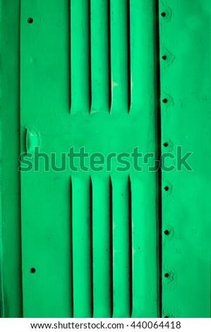 metallic air grid - stock photo