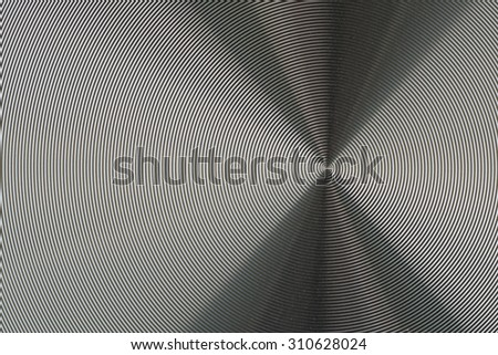 Metallic spiral background - abstract photography - stock photo
