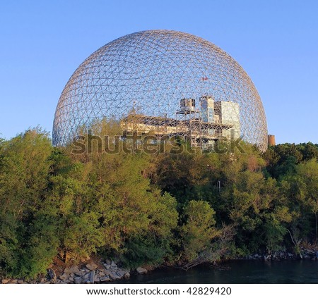Metallic Structure of Montreal # 2 - stock photo