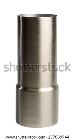 metallic  vase - stock photo