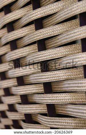 Metallic Weave Background - stock photo