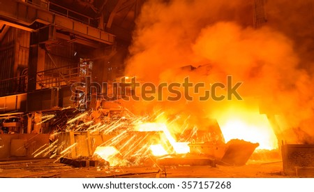 Metallurgical processes production.