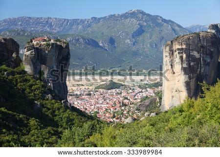 Meteora in Greece - stock photo