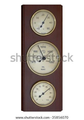 meteorological instruments - stock photo