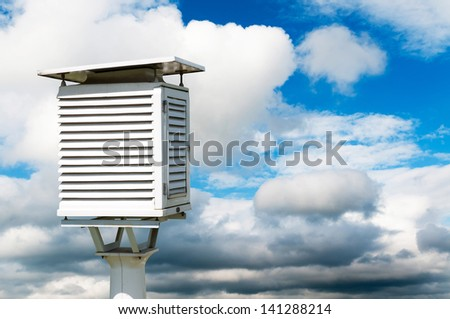 Meteorology - stock photo