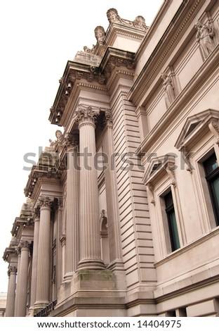 Metropolitan Museum of Art Building at Manhattan, New York - stock photo