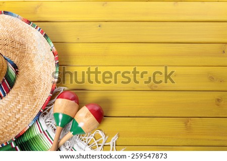 Fiesta stock photos royalty free images vectors for Mexican themed powerpoint template