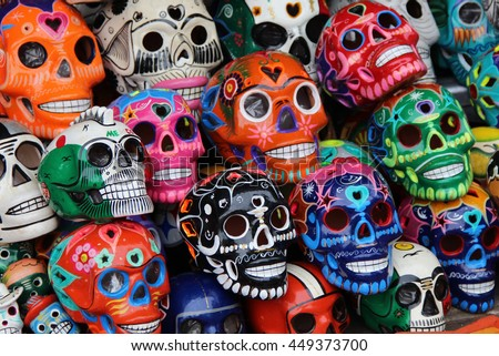 Mexican craft - stock photo