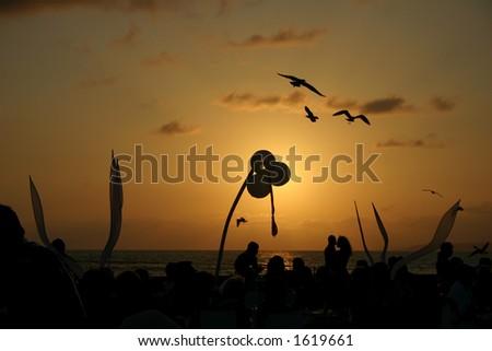 Mexican Fiesta Night, Puerto Vallarta - stock photo