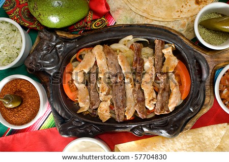 Mexican food - stock photo