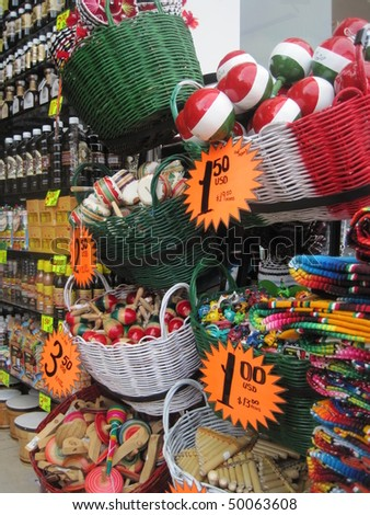 Mexican Market - stock photo